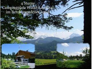 Campingplatz Winkl-Landthal****, 4*Campingplatz Winkl-Landthal mit Ferienwohnung 2-12Personen und Mietcaravan in Bischofswiesen b. Berchtesgaden