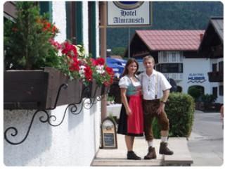 Willkommen im Hotel Almrausch, Hotel Almrausch in Reit im Winkl