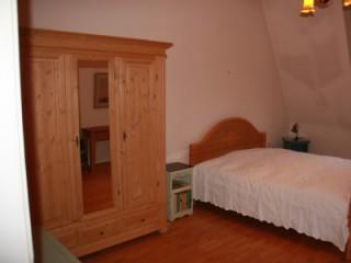 Schlafzimmer 1 Doppelbed, Apartment  Burgund in Neuss