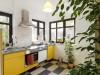 Küche im Apartment Eichwalde
