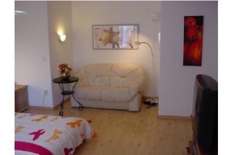 Wohn-/Schlafraum | Appartement Berlin-Wilmersdorf