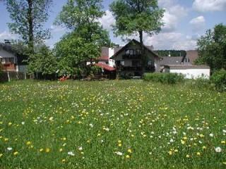 Hausansicht, Berggasthof Pension Frankenhöhe in Schwarzenbach am Wald