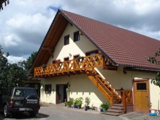 Frontansicht , Biobauernhof im Spreewald in Schmogrow-Fehrow
