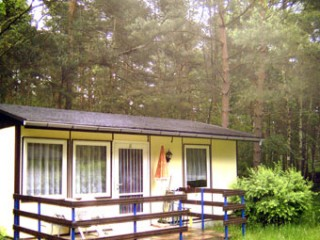 Bungalow mit Terrasse, Camp-Koose in der Dübener Heide | Bungalows in Bad Schmiedeberg