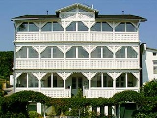 Hausansicht, Villa Ostseelilie in Sassnitz