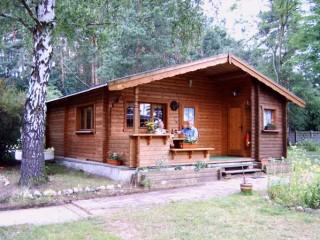 Blockbohlenhaus, Ferienanlage Am Weinberg in Nuthe-Urstromtal