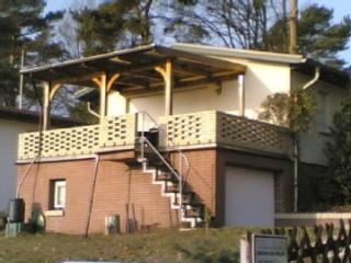 Seeblick Terrassenseite, Ferienhaus Eden und Seeblick in Plau am See