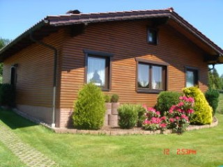 Hausansicht, Ferienhaus Göbser in Altenfeld / Thüringen