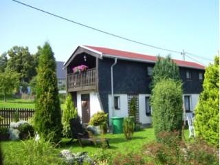 FH mit Garten, Ferienhaus im Grünen in Marienberg, Erzgebirge