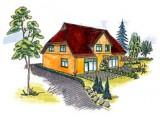 Ferienhaus ' Nordstern ' - nähe Darßwald, ruhig gelegenes Ferienhaus, ca. 800m vom Strand,  in Ostseebad Prerow