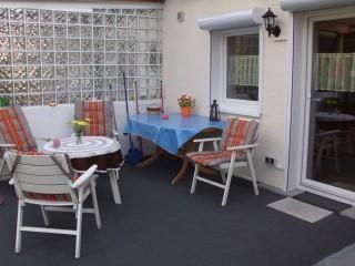 Überdachte Terrasse, Ferienhaus Remscheid in Remscheid