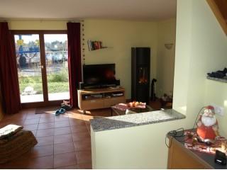 Wohnzimmer, Ferienhaus StorchenNest in Rechlin