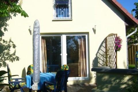 Ferienhaus mit Terasse und Grillecke