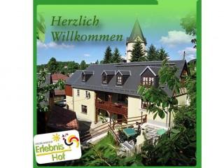 Hausansicht, Ferienhof Wilfert mit Pension in Mühlental / OT Unterwürschnitz