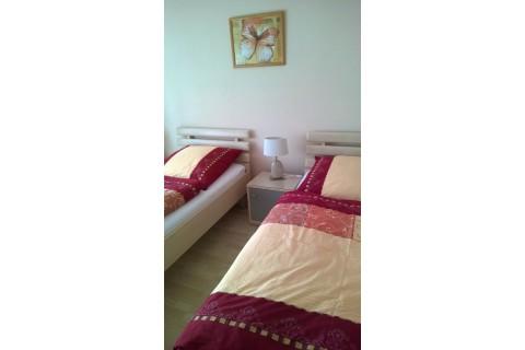 Betten können auch getrennt gestellt werden