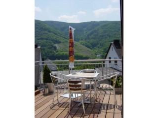 Terrasse/ Wohnung 2, Ferienwohnung Am Weinberg in Bernkastel-Kues