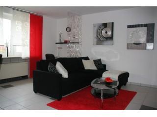 Wohnzimmer, Ferienwohnung Ambiente in Korschenbroich