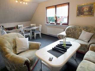 Wohnzimmer, Ferienwohnung Bien-Haus in Schierke am Brocken