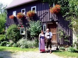 Willkommen, Ferienwohnung Blausteinhof in Obercunnersdorf bei Löbau