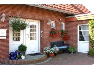 Eingangstür, Ferienhaus STEHT ZUM VERKAUF in Dornum, Ostfriesland