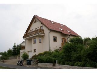 Hausansicht, Ferienwohnung Sächsische Schweiz bei Dresden   Gebirgsblick in Rabenau, Sachsen