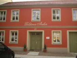 Hausansicht Ferienwohnung Goldener Anker, Ferienwohnung Goldener Anker in Rheinsberg