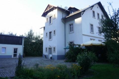 Wohnhaus mit Sitzecke