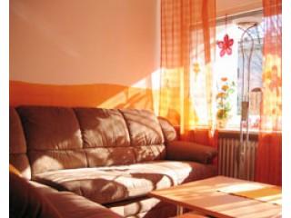 ausziehbare Wohn- /Schlafcouch, Ferienwohnung Heimann in Prien am Chiemsee