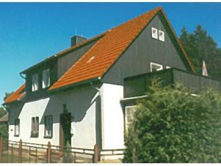 Hausansicht, Ferienwohnung im Harz   Haus am Wald/ FeWo & Bungalow in Hasselfelde