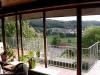Wohnzimmer/Blick auf Dorf/ Eingangsgeschoss