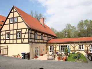 Fachwerkhof, Ferienwohnung in Maxen bei Dresden in Müglitztal