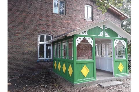 grüne Veranda