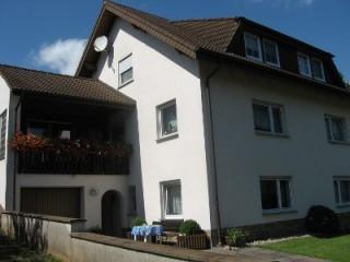 Hausansicht/ FeWo im Erdgeschoss, Ferienwohnung Schiebelhut in Eichenzell