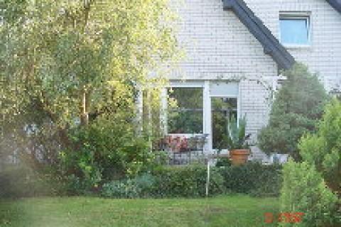 Blick auf die FW mit Terrasse