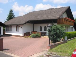 Hausansicht, Ferienwohnung Stahl in Faulbach, Unterfranken