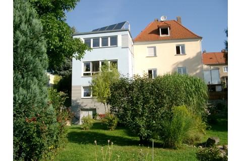 Haus-Gartensicht