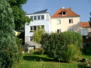Haus-Gartensicht, Ferienwohnung Ullmann in Dresden