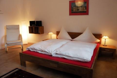 Ferienwohnung am Goetheplatz - Schlafzimmer