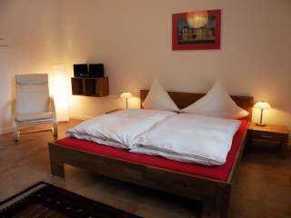 Ferienwohnung am Goetheplatz - Schlafzimmer, Ferienwohnung & Gästewohnung am Goetheplatz in Weimar, Thüringen