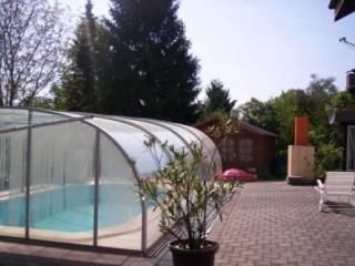 Schwimmbad im Garten, Ferienwohnung & Gästewohnung in Markdorf in Markdorf (Baden)