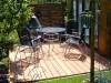 Romantischer Sitzplatz im Garten