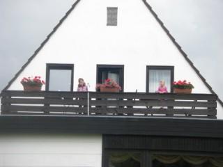 Balkon der Ferienwohnung, Ferienwohnung Flensburg in Flensburg
