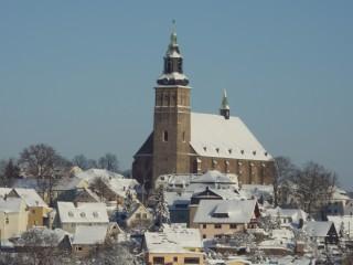 Blick aus der Ferienwohnung, Ferienwohnung Würzburg in Schneeberg im Erzgebirge in Schneeberg, Erzgebirge
