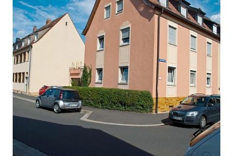 Hausansicht Ferienwohnung Westphal in Würzburg