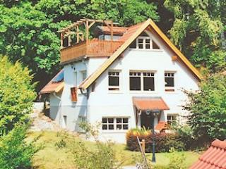 FH mit 2 Ferienwhg.n, Gartenseite, Ferienwohnungen Bodetalblick in Thale-Altenbrak