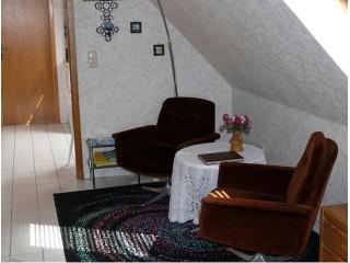 Wohnzimmer, Ferienwohnungen Krös in Langen bei Bremerhaven