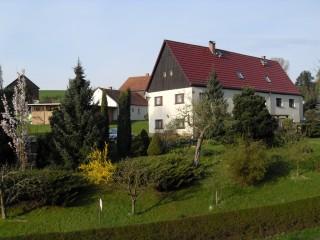 Hausansicht, Ferienwohnungen Mergen in Gohrisch OT Papstdorf