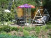 Garten und Terrasse/ FeWo 2