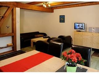 Wohnzimmer, Ferienwohnungen Rasehorn in Altenberg, Erzgebirge
