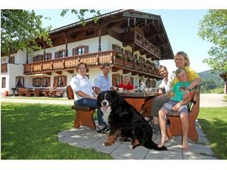 Großer Garten zum Grillen, Ferienwohnungen Wimmerhof Inzell in Inzell